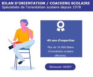 Odiep Image - (2016) Rapport Sénat – Orientation Scolaire
